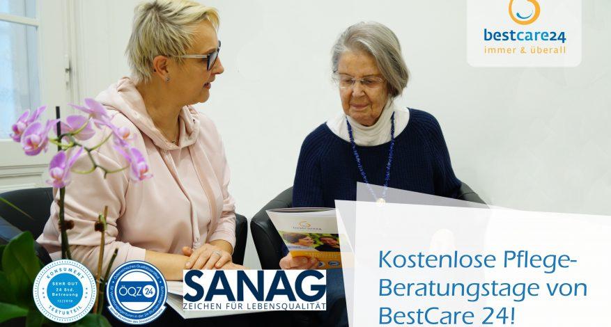 Kostenlose Pflege-Beratungstage von BestCare 24