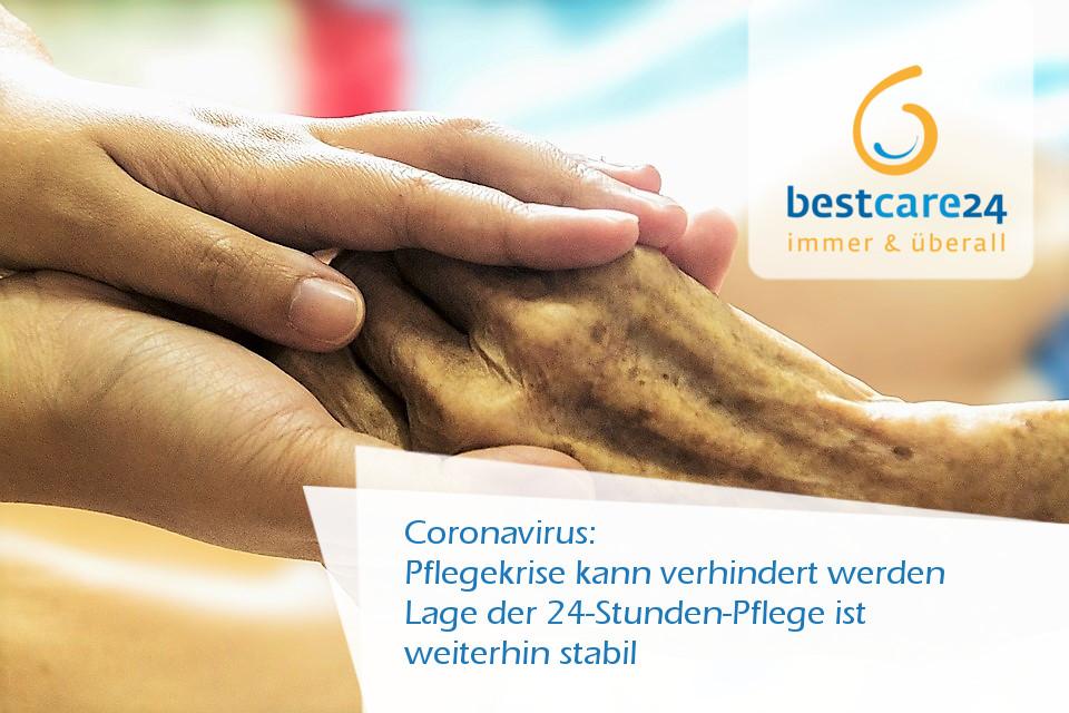 Corona-Virus, Pflegekrise kann verhindert werden